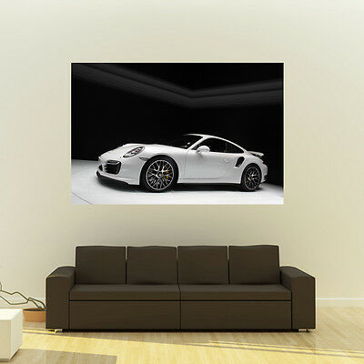 Poster of Porsche 911 991 Turbo S Giant Huge 54x36 Inch Print 137x91 cm