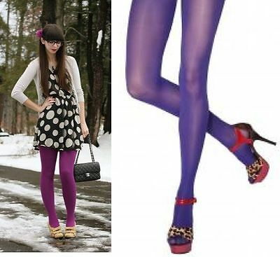 Violet Maternity Pregnancy Spring Tights 40 Den Comfortable Durable Quality