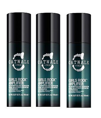 TIGI Catwalk 3 x 150 ml Curls Rock Amplifier Curlesque