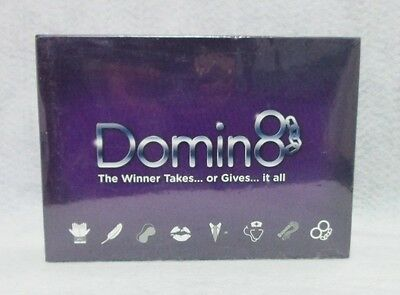 Domin8 Game Adult Dominos Play Steamy Hot Sexy Dom Sub Great Lovers Gift