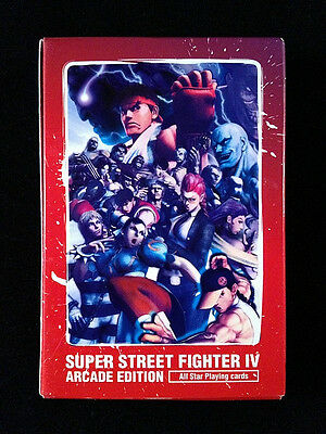 Super Street Fighter IV Arcade Edition All Star Playing Cards Deck Trump Capcom