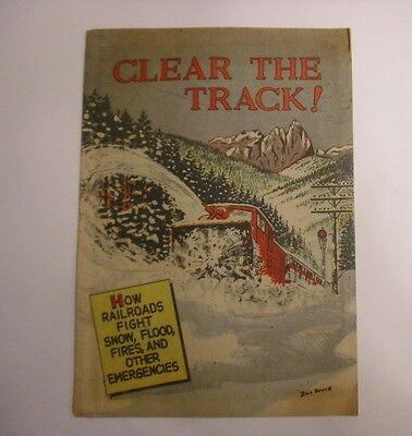 Clear the Track!, Assoc of American Railroads Giveaway, Fine-
