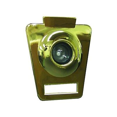 Keystone Door Viewer Brass Finish, Wide Angle, Easy To Install,