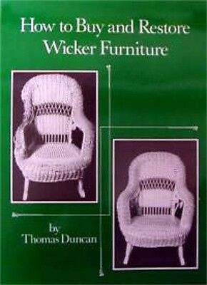 Discontinued-  WICKER REPAIR  How to Buy & Restore Wicker  A0081