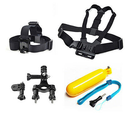 Chest Head Mount Floating Handlebar Accessories For GoPro Hero 2 3 4 5 Camera
