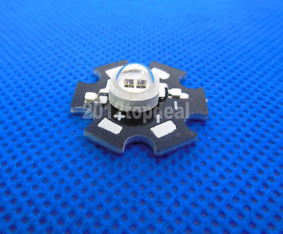 10pcs 3w 850nm infrared IR LED for night vision camera with 20mm Star PCB