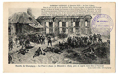 Bataille de Champigny- 2 décembre 1870 . Battle of Champigny-December 2, 1870