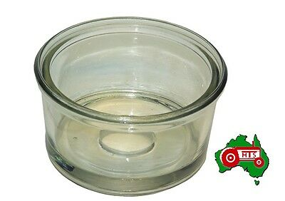 Straight Sides Glass CAV Fuel Filter Bowl Flat Deep Massey Ferguson Tractor