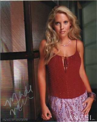 BUFFY ANGEL HARMONY KENDALL MERCEDES McNAB # 4 hand signed