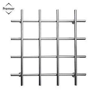 Premier Housewares Criss Cross Trivet Chrome Wire Kitchen Stand Accessory New