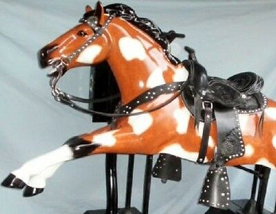Coin Op  Kiddie Ride Saddle SET 3 pc. for Champion or Trigger  Horse
