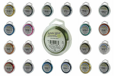 Artistic Wire 30 colors Round Copper Craft Wire REGULAR Spool