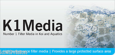 Evolution Aqua K1 Kaldness Pond Filter Media 1ltr-50ltr