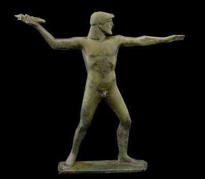 Zeus King Of the Gods Olympians Bronze Statue - Lost Wax Method - Unique piece
