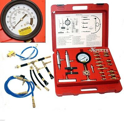 100PSI  Pressure Gauge Test Master Fuel Injection Pump Kit CISE CIS Metric SAE