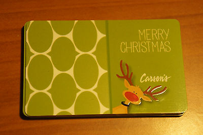 Carson's Store MERRY CHRISTMAS GIFT CARDS Collector's Item Brand New