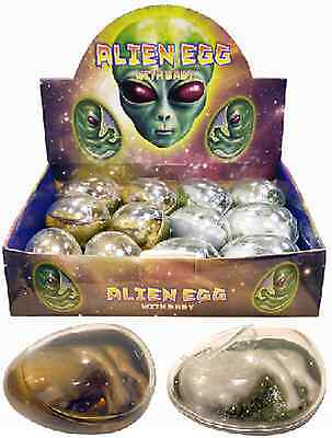 ALIEN EGG Baby Embryo Goo Birthpod Kids Party Bag Filler Favour Toys Play