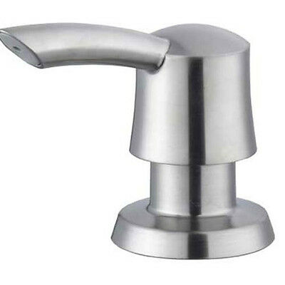 Satin Nickel Artisan Soap Dispenser