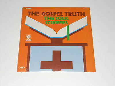 Gospel - The Soul Stirrers - SEALED LP - The Gospel Truth - Checker 10027