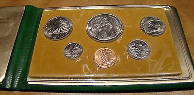 1979 Singapore - 6 coin mint set