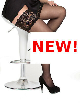 PLUS SIZE THIGH HIGH HOLD UPS stay-up stockings18 20 22 24 26 28 30 32 34 XL-5XL