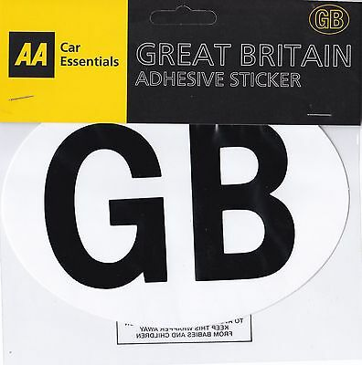 AA GB SELF ADHESIVE STICKER : Quality Brand : WH2 : 038 : FREE UK P&P