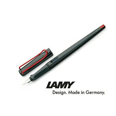 Lamy Joy Calligraphy Fountain Pen - Black & Red - 3 Different Nib Size Available