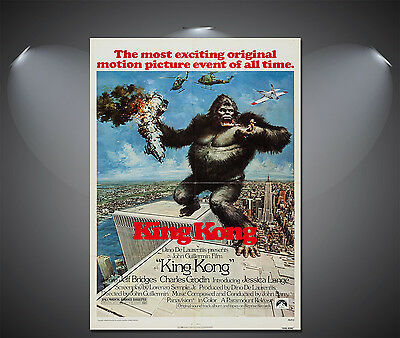 King Kong Vintage Movie Poster - A1, A2, A3, A4 available