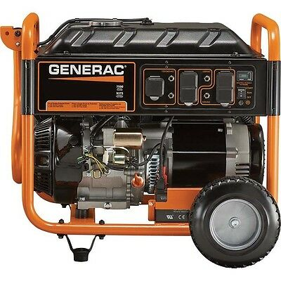 Portable Generator - Gas - 9,375 Watts - Electric Start - 420cc - 7.5 Gallons