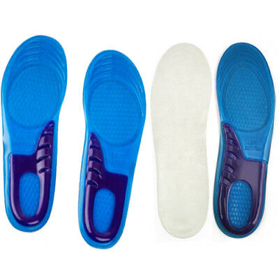 High Quality Orthotic Arch Support Massaging Gel Insoles Confortable Wear KL