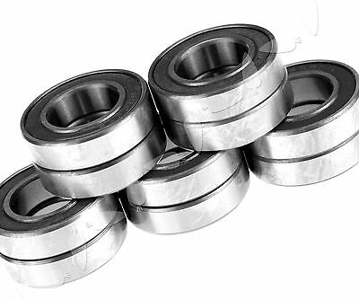 10 X Industry Ball Bearing 15x28x7mm Rubber Sealed Weatherproof 6902 2RS Type
