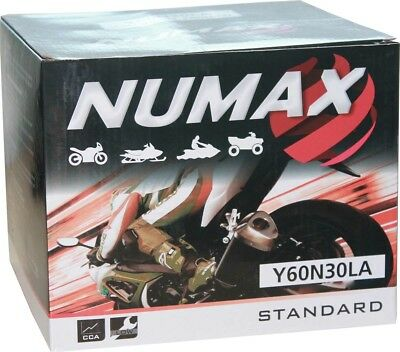 Numax Y60N30LA Heavy Duty MotorCycle Quad ATV Bike 12v 30 Ah MotorBike Battery