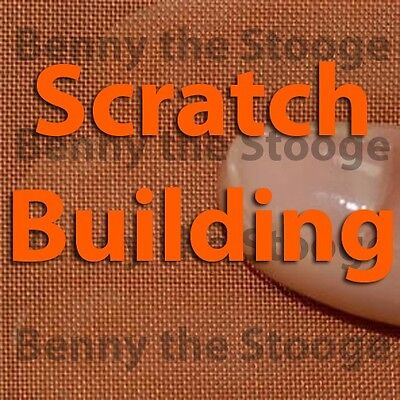 "Scratchbuilding Supplies 100% Copper #100 Woven Wire Mesh 12""x12"""