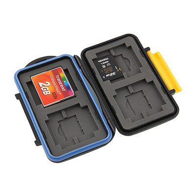 JJC MC-3 Memory Card Storage Carrying Case Holder Box Protector For CF SD