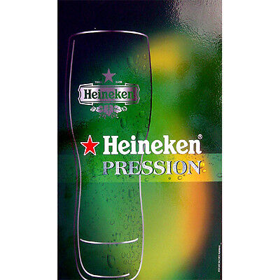 Quadro birra Heineken medium density arredamento pub bar mercato francia regalo