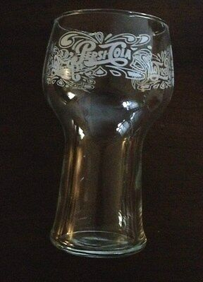 Vintage Pepsi  Cola Bell Flared Top Glass Drinking Retro Collectible