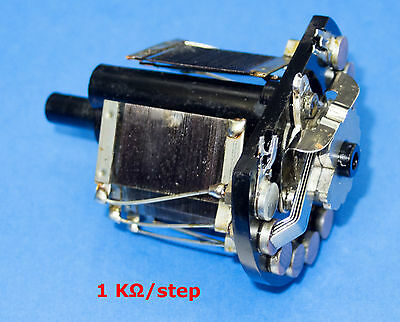 GR General Radio 1 kohm / step Resistor Decade replacement for 1433 series