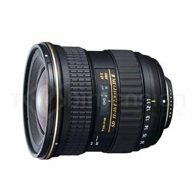 TOKINA AT-X 11-16mm F/2.8 f2.8II PRO DX for Canon EF Stock in EU nuovo