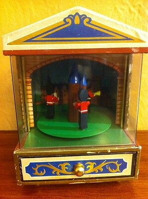 "Vintage Trinket/ Jewelry Music Box ""parade Of The Wooden Soilders""  1981 Japan"