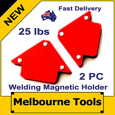 2PC 25 lbs Magnetic Welding Arrow Holders, Right Angles, Multi Purpose MIG tools