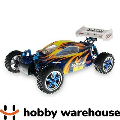 HSP 1/10 RC Buggy 94107 TOP Orange 2.4GHz Brushless 4WD Off Road RTR + LiPo