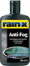 Rainx Anti Fog Eliminates Fogging & Steaming of interior 200ml R81199