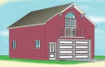 Garage plans blueprints 26 39 x 36 39 3 car traditional for 26 x 36 garage