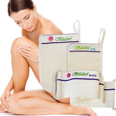 Baiden Mitten System-Body,Face Exfoliation Scrub Best Seller 5 Star All Natural