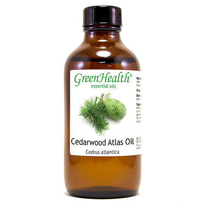 4 fl oz Cedarwood Atlas Essential Oil (100% Pure & Natural) - GreenHealth