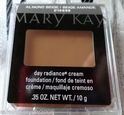 Fresh New Mary Kay Day Radiance Cream Foundation Almond Beige ~Quick Ship