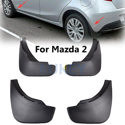 Fit For Mazda 2 / M2 Hatch 2008-2013 Mud Flap Flaps Splash Guard Mudguards Demio