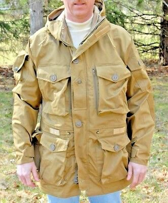 Large Arktis B221 Special Forces Coyote Kommando Parka SAS 14 Pockets!