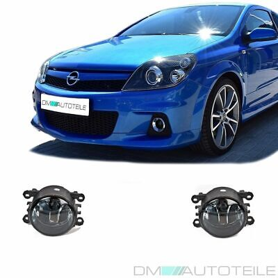 OPEL ASTRA G H Twin Top Corsa D OPC NEBELSCHEINWERFER NSW SMOKE BlACK