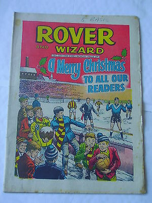 ROVER AND WIZARD Dec 28th 1968 Good+ Christmas Issue
